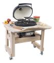 Picture of Primo Oval Junior Smoker and Charcoal Grill