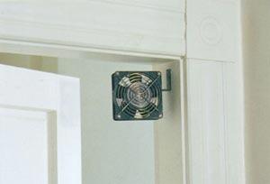 Door Way Super Quiet Fan & www.FiresideMurphy. Door Way Super Quiet Fan