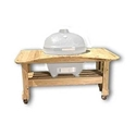 Picture of Primo Cypress Table for Round Kamado Grill PRM601