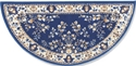 Picture of 56'' Blue Oriental Virgin Wool Half-Round Rug