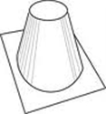 Picture of IHP 8DM High Pitch Roof Flashing 6/12-12/12 Pitch