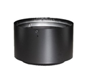 "Picture of 6"" Dura-Vent 8680 - Stove Top Adapter DVL Double Wall Black Pipe"