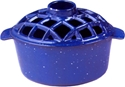 Picture of 2.2 Qt. Lattice Steamer Blue Enamel
