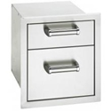 Picture of Fire Magic 53802 Flush Mount Double Storage Drawers