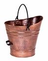Picture of Antique Copper Finish Ash / Coal Hod / Pellet Bucket - Small