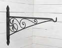 "Picture of 30"" Wrought Iron Fireplace Crane"