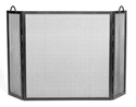 Picture of Twisted Rope 3-Fold Screen - Graphite