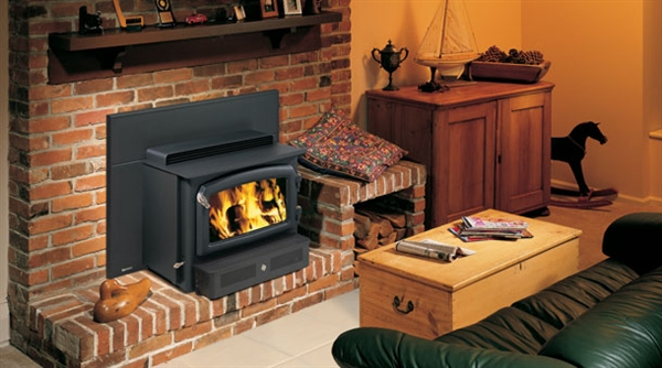 Picture of Regency H2100 Hearth Heater Wood Insert - Www.FiresideMurphy. Regency H2100 Hearth Heater Wood Insert